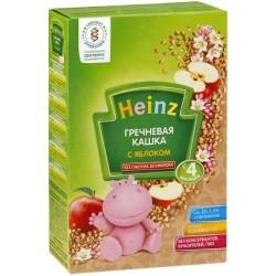 Каша безмолочная Heinz гречневая с яблоками (с 4 мес.) 200 гр.