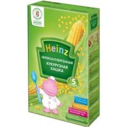 Каша безмолочная Heinz кукурузная низкоаллергенная (с 5 мес.) 200 гр.