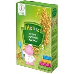 Каша безмолочная Heinz первая овсяная с пребиотиком (с 5 мес.) 200 гр.