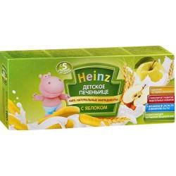 Печенье Heinz печеньице с яблоком (с 5 мес.) 160 гр.