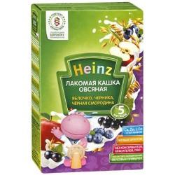 Каша безмолочная Heinz овсянная яблоко черника чер. смородина (с 5 мес.) 200 гр