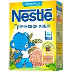 Каша молочная Nestle гречневая (с 4 мес.) 250 гр.