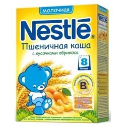 Каша молочная Nestle пшеничная с абрикосом (с 8 мес.) 250 гр.