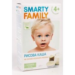 Каша молочная Smarty Family рисовая (с 4 мес.) 225 гр.