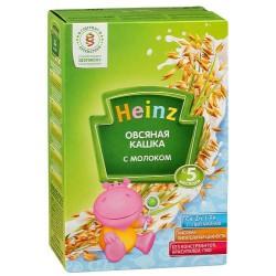 Каша молочная Heinz овсяная (с 5 мес.) 250 гр.