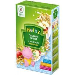 Каша молочная Heinz овсяная с яблоками (с 5 мес.) 250 гр.