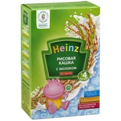 Каша молочная Heinz рисовая (с 4 мес.) 250 гр.
