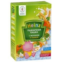 Каша молочная Heinz пшеничная с тыквой (с 5 мес.) 250 гр.
