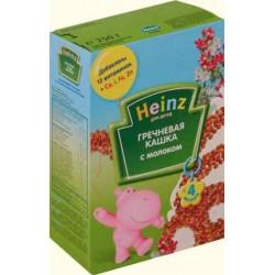 Каша молочная Heinz гречневая (с 4 мес.) 250 гр.