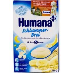 Каша молочная Нumana мультизлаковая с бананом с 6 мес. (250 г)
