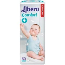 Подгузники Libero Comfort 4 (7-14 кг) 60 шт.