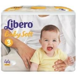 Подгузники Libero Baby Soft 3 (4-9 кг) 44 шт.