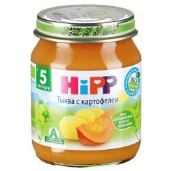 Пюре Hipp Тыква с картофелем (с 5 мес.) 125 гр.