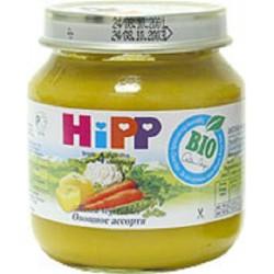 Пюре Нipp Овощное ассорти (с 4 мес) 125 гр.