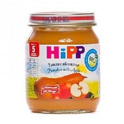 Пюре Hipp Тыква с яблоками (с 5 мес.) 125 гр.