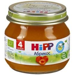 Пюре Hipp Абрикос (с 4 мес.) 80 гр.