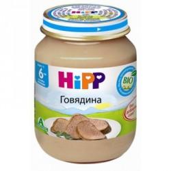 Пюре мясное  Hipp Из говядины (с 6 мес.) 80 гр.