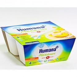Йогурт Нumana Персик (с 6 мес.) 4х100 гр.