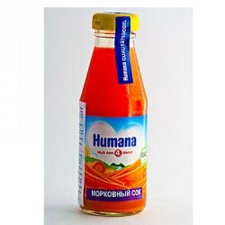 Сок Humana Морковный (с 4 мес.) 200 мл.