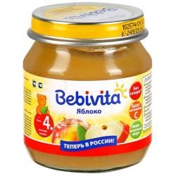 Пюре Bebivita Яблоко (с 4 мес.) 100 гр.