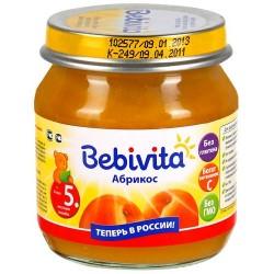 Пюре Bebivita Абрикос (с 5 мес.) 200 гр.