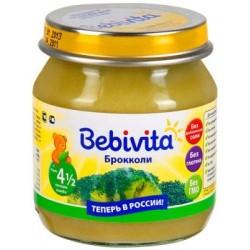 Пюре Bebivita Брокколи (с 4,5 мес.) 100г.