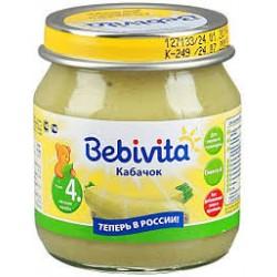 Пюре Bebivita Кабачок (с 4 мес.) 100 гр.