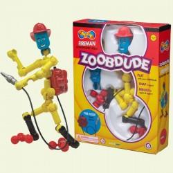 Конструктор Zoob Dude пожарный 12001