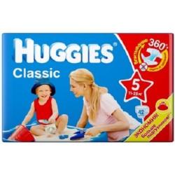 Подгузники Huggies Classic 5 (11-25 кг) JP 42 шт.