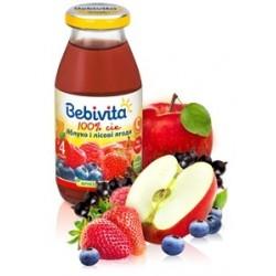 Сок Bebivita яблоко и лесные ягоды (с 4 мес.) 200 мл.