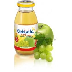 Сок Bebivita яблочно-виноградный (с 6 мес.) 200 мл.