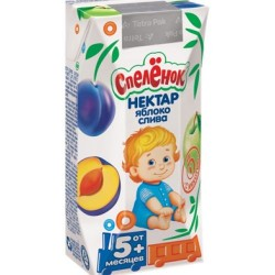 Сок Спеленок Яблоко-слива с йодом (с 5 мес.) 200 мл.