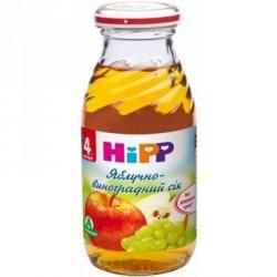 Сок Hipp Виноградно-яблочный (с 4 мес.) 200 мл.