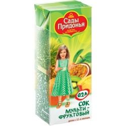 Сок Сады Придонья Мультифруктовый (с 12 мес.) 200 мл.