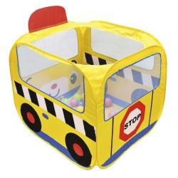 Домик-палатка Школьный автобус с шариками Ks Kids 10658