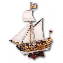 Трехмерный конструктор CubicFun Яхта Мери T4010h