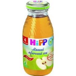 Сок Hipp мягкий яблочный (с 4 мес.) 200 мл.