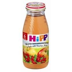 Сок Hipp яблочно-шиповниковый (с 6 мес.) 200 мл.