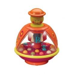 Развивающая игрушка Юла Мандаринка Battat BX1119Z