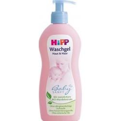 Гель Hipp для купания  для тела и волос (с рождения) 400 мл.