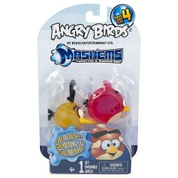 Набор ANGRY BIRDS S4 crystal - Машемсы Tech4Kids 50281-S4NRO