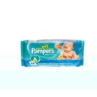 Cалфетки Pampers Baby fresh+алое 3+1уп (4*56)