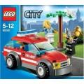 Автомобиль начальника пожарной охраны Lego 60001