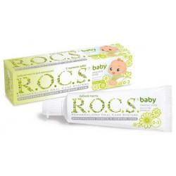 Детская зубная паста Душистая ромашка 0-3 Rocs