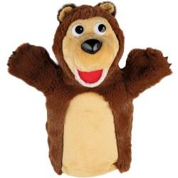 Мягкая игрушка на руку Медведь 27 см Мульти-Пульти V91098