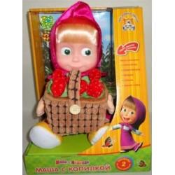 Мягкая игрушка Маша с копилкой для денег Мульти-Пульти V91753/30