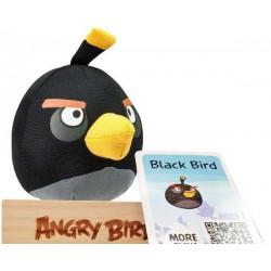 Игрушка Черная птичка Angry Birds Tactic Games 40518
