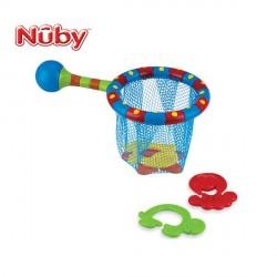 Сачок для купания с игрушками Nuby 6142