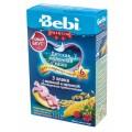 Каша молочная Bebi 3 злака с малиной и мелиссой (с 6 мес.) 200 гр.