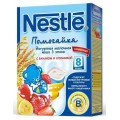 Каша молочная Nestle йогуртовая 3-х злаковая банан с клубникой (с 8 мес.) 200 гр.